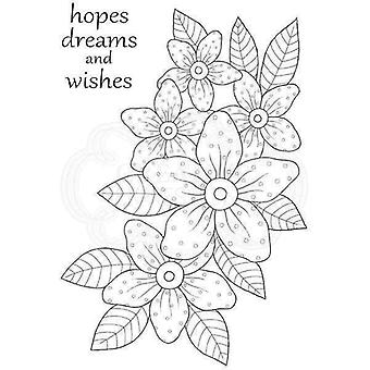Woodware Clear Stamp Set - Sunny Daisies