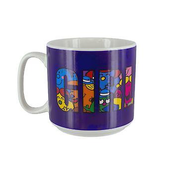 Ragazza Gang calore cambiamento sensibile mug & tè retrò signorina Mr Uomini Tema