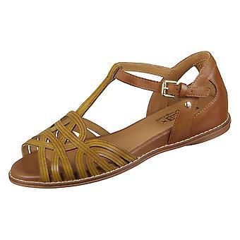 Pikolinos Talavera W3D0668C1honey sapatos femininos universais de verão