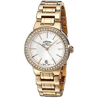 """ساعات المعصم """"التناظرية"""" LB90085/02 لتر دوارة، امرأة، ارتفع الذهب"""