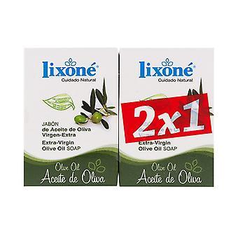 Mýdlová sada Olivový olej Lixoné (2 ks)