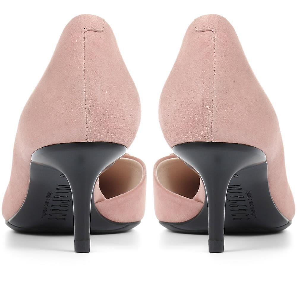 Staccato Heeled Leather Court Shoes