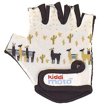 Kiddimoto Cycling Gloves Llama