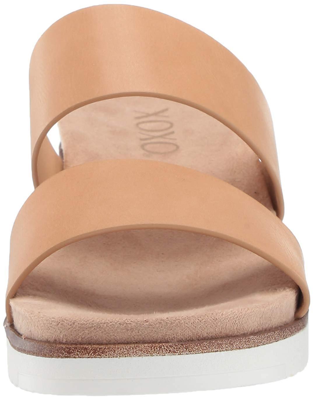 Xoxo Kobiety Petra Open Toe Casual Sandały slajdów Euk2e
