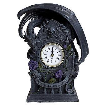 Nemesis Jetzt Drachen Schönheit Uhr 26cm