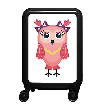 mytrolley Owl S, 4 wheels, 55 cm, 32 L, Black