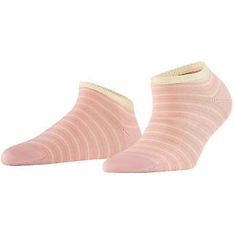 Falke Stripe Shimmer Sneaker Sokker - Blossom Pink