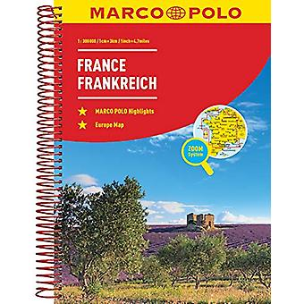 France Marco Polo Road Atlas by Marco Polo - 9783829736848 Book