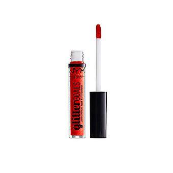 Nyx Professional Make Up Glitter Goals Rouge à lèvres liquide #shimmy pour femmes