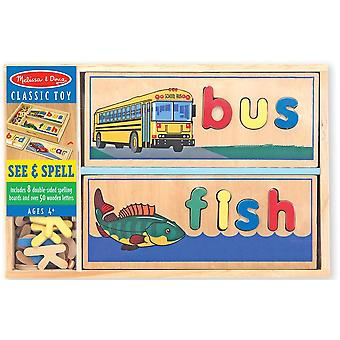 Melissa & Doug See & Spell Learning Game