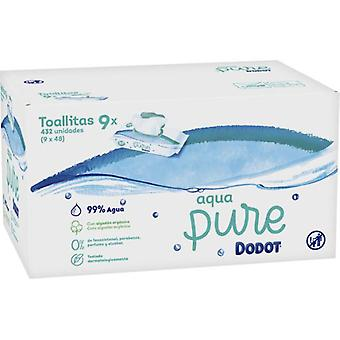 Dodot Aqua Pure Baby Wipes 432 Units (Baby & Toddler , Diapering , Baby Wipes)