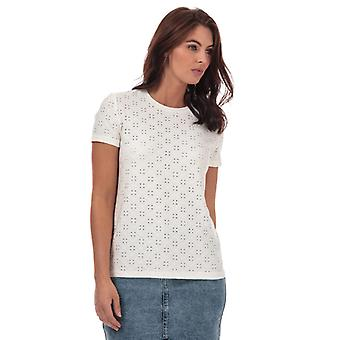 Women's Jacqueline de Yong Cathinka T-Shirt in White