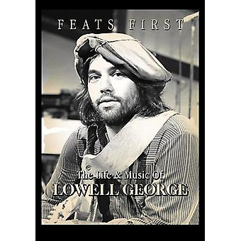 Lowell George - George Lowell-Feats First [DVD] USA import
