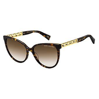 Marc Jacobs Marc 333/S 086/HA Dark Havana/Brown Gradient Sunglasses
