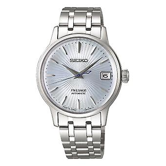 Seiko Watches Srp841j1 Presage Blue & Silver Stainless Steel Automatic Ladies Watch