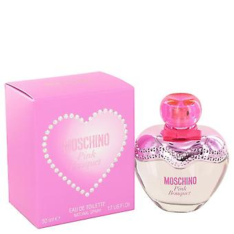 Moschino rosa bukett Eau de Toilette Spray av Moschino 1,7 oz Eau de Toilette Spray