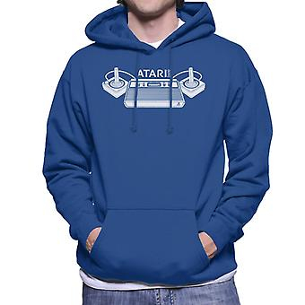Atari 2600 Konsole & Joysticks Men's Kapuzen Sweatshirt