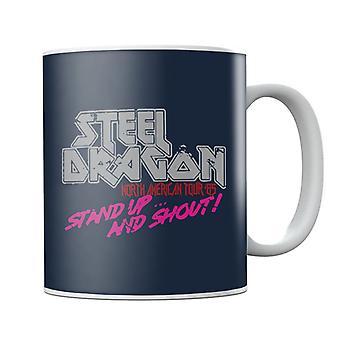 Steel Dragon North American Tour Rock Star Mug