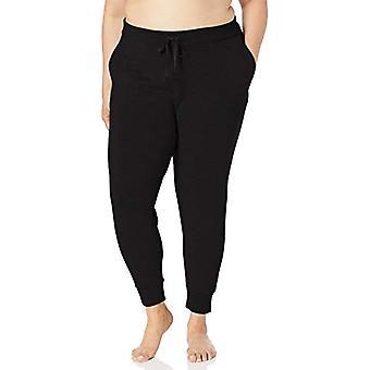 Merke - Core 10 Kvinner's Yoga CoreCloud Fleece Jogger Sweatpant, Svart ...
