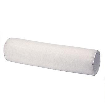YANGFAN Solid Color Cotton And Linen Candy Cylindrical Waist Pillow