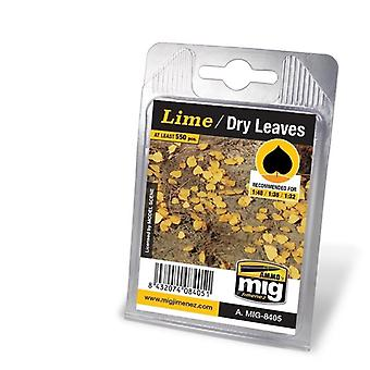 Ammo by Mig Leaves - Lime - Dry Leaves