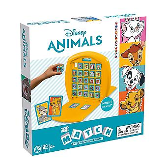 Disney Animals Top Trumps Match - The Crazy Cube Game