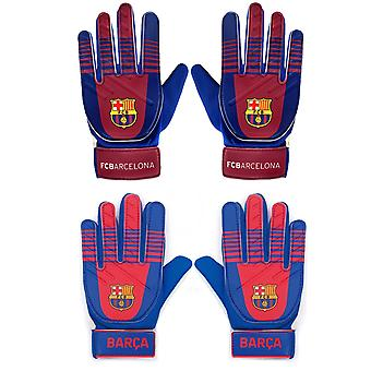 FC Barcelona Officiel Football Cadeau Kids Jeunes Gardien de but Gants Gardien de but