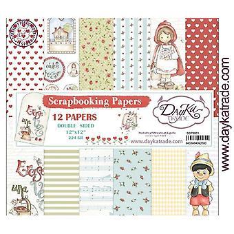 DayKa Trade Erase una Vez 12x12 Inch Paper Pack