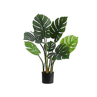 SOGA Artificial Indoor Potted Turtle Back Fake Decoration Plant