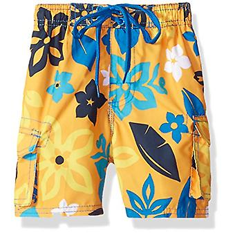 Kanu Surf Boys' Echo Quick Dry UPF 50- Beach Swim Trunk