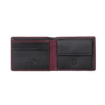 Primehide Mens Leather Wallet RFID Bloqueando o porta-cartões Gents Notecase 3401