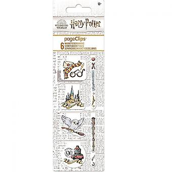 Harry Potter Magnet Page Clip Bookmarks