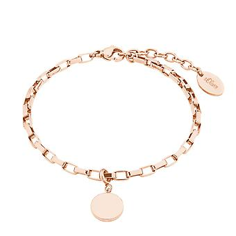 s.Oliver Jewel kvinders armbånd armbånd rustfrit stål IP Rosé 2028466