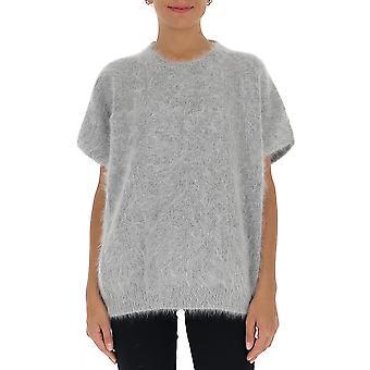 Fabiana Filippi Mad220b707d0678149 Women's Grey Wool Sweater