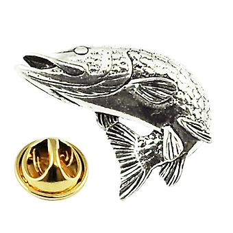 Kravaty Planet Soustružení Pike Ryby Cín klopa Pin Odznak