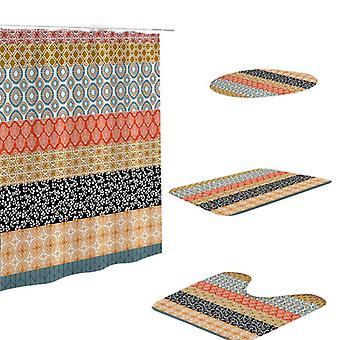 Badezimmer Dekoration Luxus 3d digital gedruckt böhmische Dusche - Vorhang