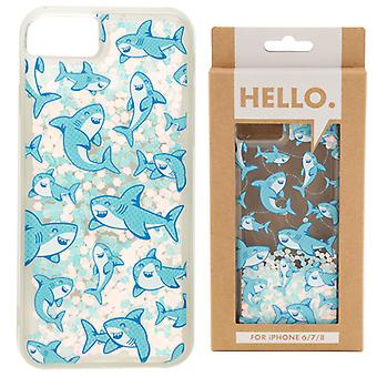 iPhone 6/7/8 Phone Case - Shark Design