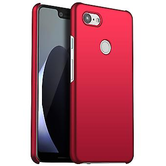Anti-impact Hard case for Google Pixel 3 Red kaiqimi-252