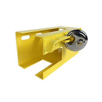 Hyfive trailer hitch lock caravan lock universal trailer hitch security pad lock steel