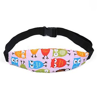 Adjustable Infant Baby Car Seat, Head Support Pillow Fastening Belt- 13 Colors