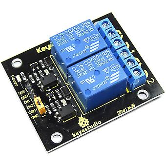 Keyestudio 5V 2 Channel Relay Module