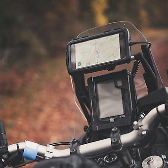 Iphone 11 pro max waterproof tough case & motorcycle accessory bar mounting kit
