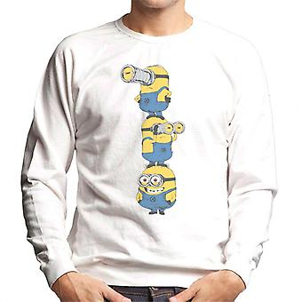 Despicable Me Minions Standing Tower Men's Sweatshirt