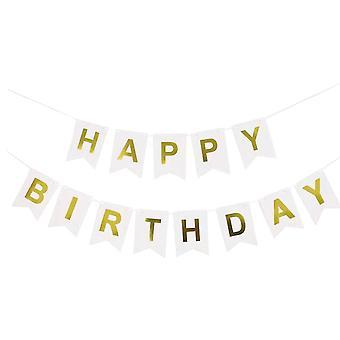 YANGFAN alles Gute zum Geburtstag Banner Party Dekoration
