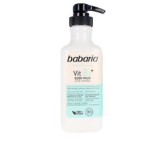 Babaria Vitamina B3+ Lapte de corp 100% Vegan 500 ml pentru femei