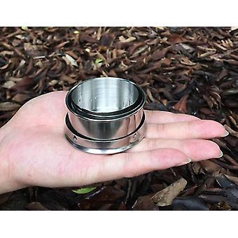 Rostfritt Stål Hopfällbar Cup