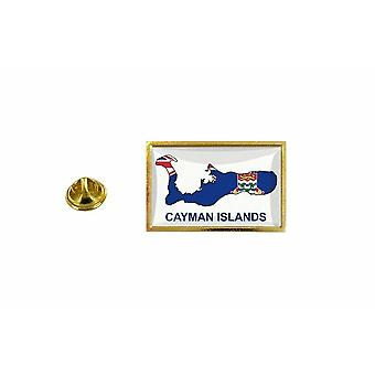 mänty mänty merkki mänty mänty pin-apos;s lippu maakartta KY caimans saaret