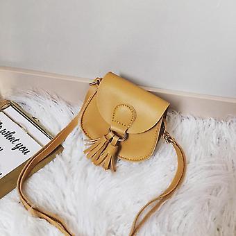 Cute Baby Mini Coin Purse Leather Kids Tassel Small Zero Wallet Bag