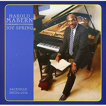 Harold Mabern - Joy Spring-in Performance at Cafe Des Copains [CD] USA import