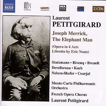 Laurent Petitgirard - Laurent Petitgirard: Joseph Merrick, the Elephant Man [CD] USA import